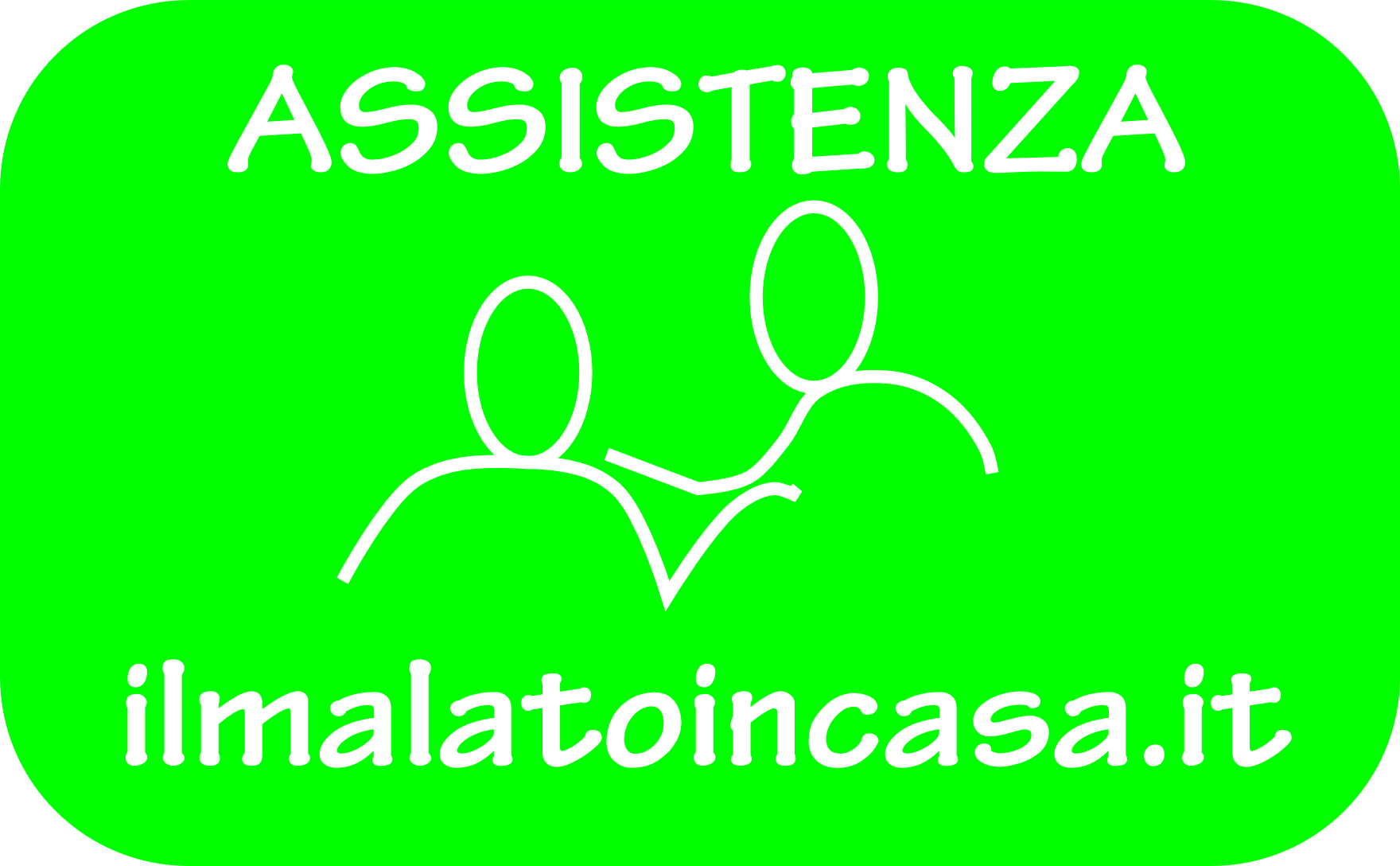 bottone verde assistenza